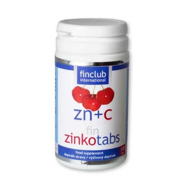 fin Zinkotabs - zinek pro zdravou pokožku, silné kosti, pro dobře fungující imunitní systém