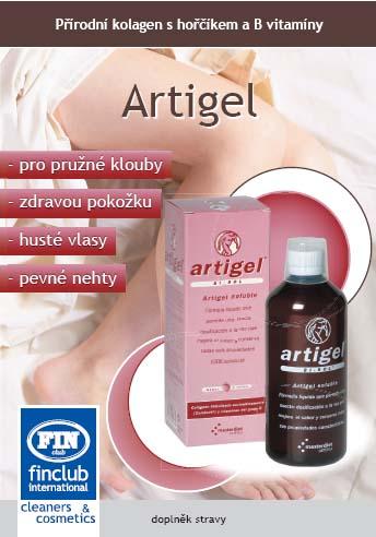 Artigel- hydrolizovaný kolagen- preventivní ochrana kloubů, vazů, šlach