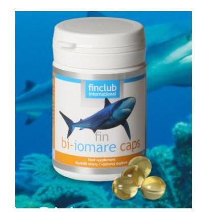 fin bi-iomare caps, biomare imunno, žraločí olej
