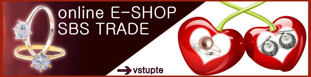 Online E-shop šperků a bižuterie SBS Trade. Slevy 40- 60%. Máme pro Vás tipy na krásné dárky, které se hodí pro každou příležitost.