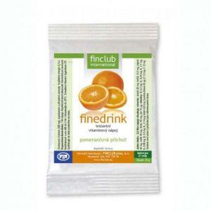 Finedrink - Pomeranč 2l (bez aspartamu, slazeno SUKRALÓZOU)