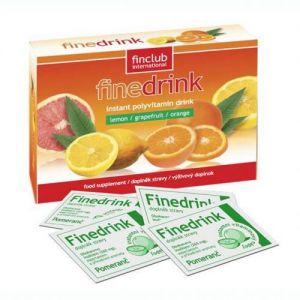 Finedrink - Pomeranč- 0,2l (bez aspartamu, slazeno SUKRALÓZOU)