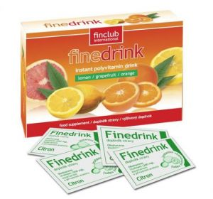 Finedrink - Citron 0,2l (bez aspartamu, slazeno SUKRALÓZOU)