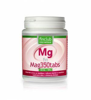 Chybí vám hořčík? fin Mag350tabs - 1 dávka denně