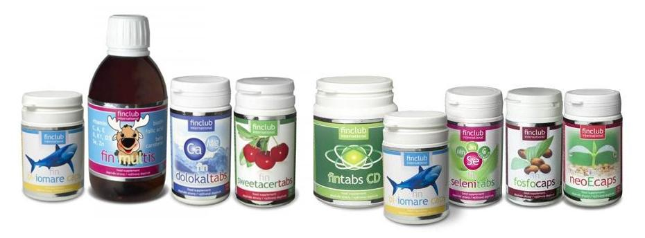 Finclub-přírodní  vitamíny, minerály, stopové prvky, přírodní kosmetika