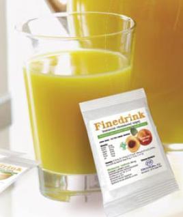 FINEDRINK- nízkokalorický hypotonický nápoj
