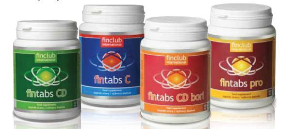 Vyberte si svůj Fintabs - zdroj vápníku