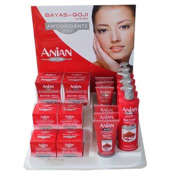 Antioxidační kosmetika z goji, kustvnice čínské, granátového jablka